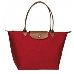 Longchamp Le Pliage (Red)
